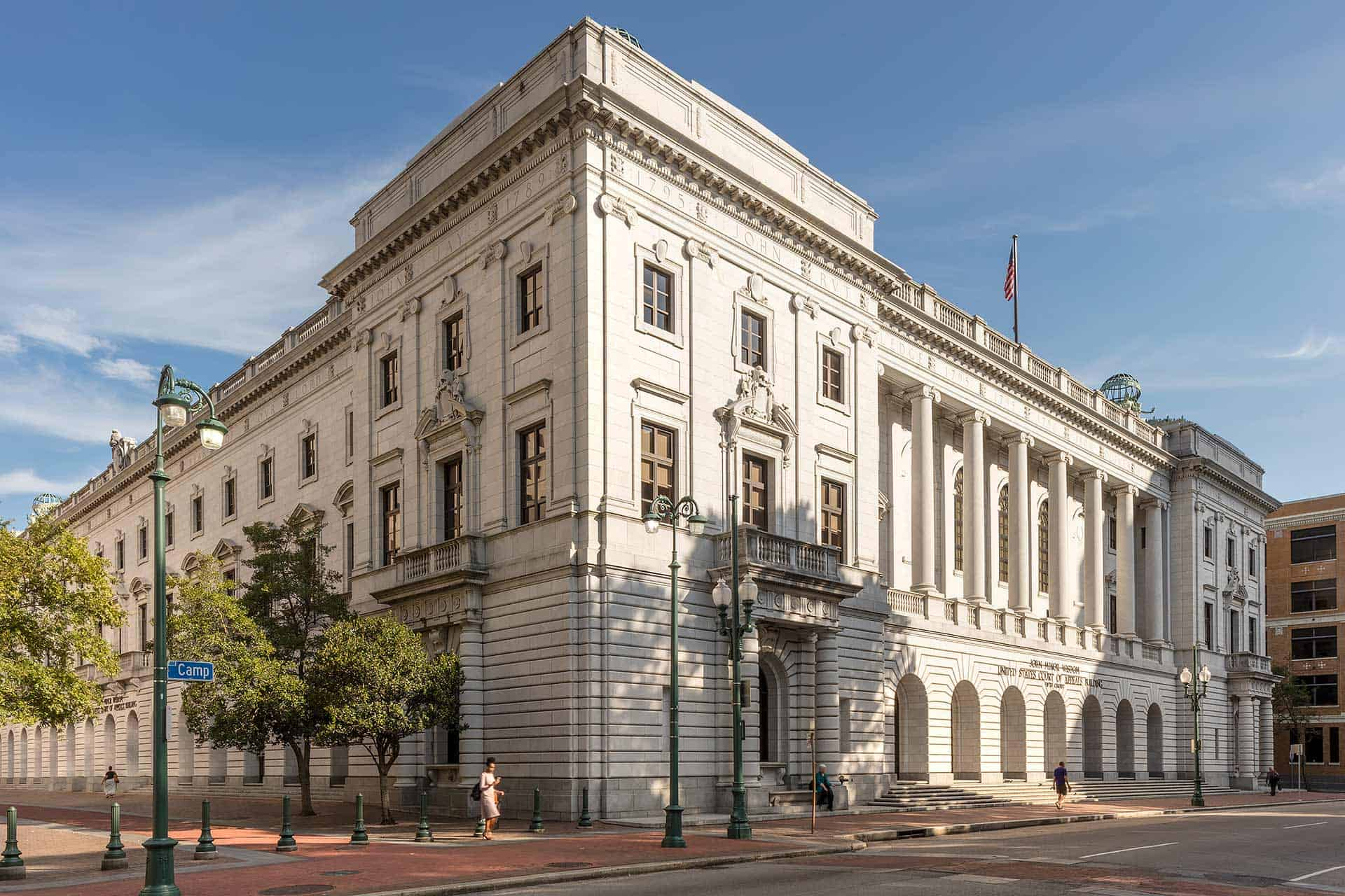 5th Circuit Court Address Db Us Of Appeals And District Mapsvg Louisiana New Orleans