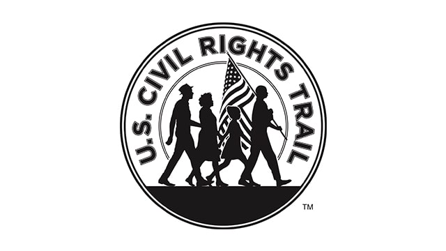 Civil Rights Trail One Color Logo