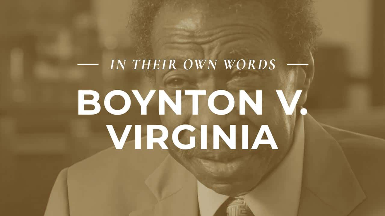 Bruce Boynton Interview Richmond, VA